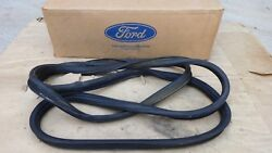 Nos 1956 Ford Truck Windshield Weatherstrip Original For Ws Stainless Trim