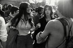 Garry Winogrand Women Are Beautiful C. 1970 / Silver Print / Signed / Gw52