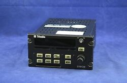 Trimble 2101 Io Gps Receiver P/n 81440-10-0233 Sv With Jaa Form 1 And Sv Tag