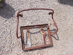 International 300 350 Utility Tractor Ih Deluxe Seat Assembly Frame Fr Cushion
