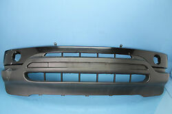 2003 BMW X5 3.0I #1  FRONT BUMPER COVER BLACK OEM HAS SOME DAMAGE