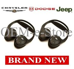 Chrysler Dual Channel Wireless Two Headphones Set See Chart For Compatible Cars