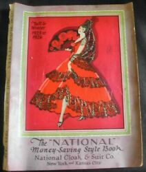 1925-1926 Fall And Winter National Cloak And Suit Co. Catalog Fashion Clothes