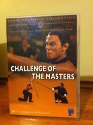 Challenge Of The Masters Kung Fu Action Dvd Shaw Brothers Collection Htf