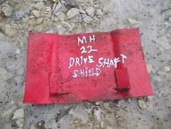 Massey Harris Mh 22 20 81 Tractor Drive Shaft Cover Panel