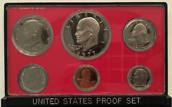 1977 Proof Us Mint Set Includes Us Mint Packaging Cp3594