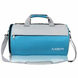 Barrel Travel Sports Bag For Women And Men Small Gym With Shoes Compartment