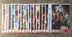 Never Read Marvel Now Nm All New X-men 1-15, Variants 1, 6 And 7. 18 Book Lot