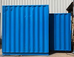 10' Shipping Container Storage Unit. Open for negotiation on all products!