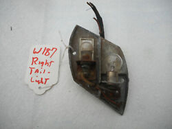 Mercedes Benz W187 Right Taillight Bulb Holder Reflector 1953 Tail Light