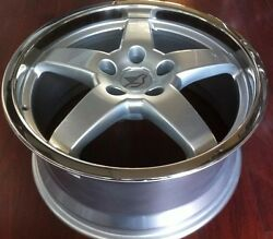 Hamann Hm2 18 X 8.5 Et 38 5120 Silver Genuine Made In Germany Set Of 4 Wheels