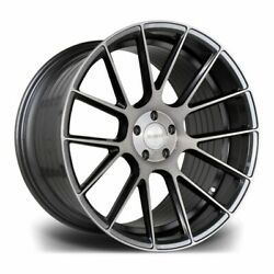 22 Riviera Rf104 Alloys Gunmetal Brushed Fits Land Rover Discovery