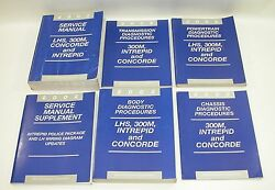 2002 LHS 300M Concorde Intrepid Factory Service Manuals GOOD USED CONDITION