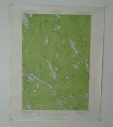 Topographical Maps Lot Of 12 Vintage Maps 1940/50s Ny.pa. N.j. And Maine