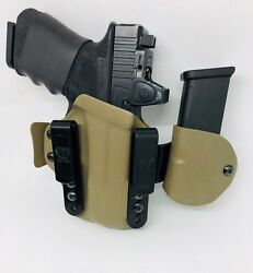 Us Made Concealment Iwb Kydex Gun Holster Tuckable Comfortable Conceal Carry