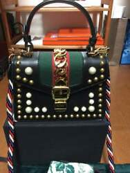 Gucci Sylvian Bags Extremely Rare world limited to 6 pieces! From JAPAN FS