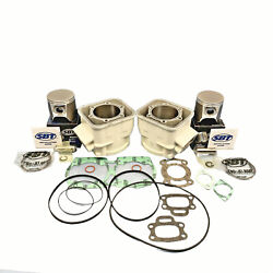 +1.50mm Sea-doo 657 X Gtx Cylinders Pistons Gaskets 1994-1996 White 6913382 A