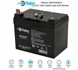 Raion Power 12v 35ah Lawn Mower Battery For J.i. Case And Case Ih Lawn 116xc