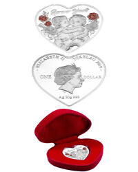 Tokelau- 2019- Forever Yours Heart - Silver Coin