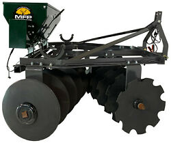 Micro Food Plots Brand 3-point Heavy Duty 20 Blade Disc With Electric Seederandnbsp