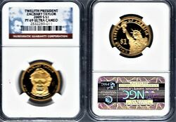 2009-s Zachary Tayler Proof Uc 1 • Ngc Pf69 Ultra Cameo • W/red Label