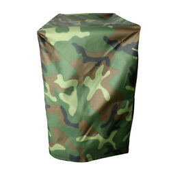 Camo Waterproof And Vented Boat Outboard Motor Hood Dust Cover For 2 To 15 Hp