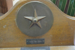 Ww2 U.s.s. San Diego Tampion From Destroyer Extremely Rare Find Estate Fresh