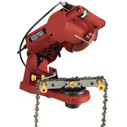 Electric Chain Saw Sharpener Grinder Bench Wall Vise Mount Chainsaw 4200 Rpm