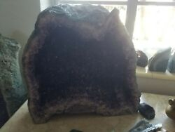 Extra Large Amethyst Geode Cathedral - 14 48 Pounds