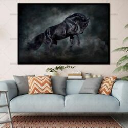 Animal Canvas Painting Print Horse Wall Pictures Living Room Art Decorations New