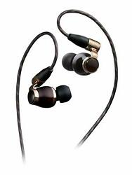 Victor JVC HA-FW10000 WOOD series canal type earphone re-cable  high res JAPAN