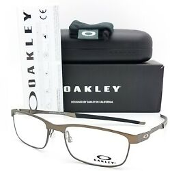 NEW Oakley Steel Plate RX Prescription Frame Cement OX3222 0254 54mm AUTHENTIC $89.00