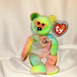 Ty Beanie Baby Peace, Style 4053, 1996. Excellent Condition.