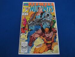 New Mutants 94 1990, Marvel Rob Liefeld Cable Unread Copy