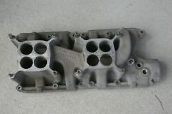 Ford Mustang Holman Moody 289 Holley 8v Intake Manifold Trans Am Mint Condition