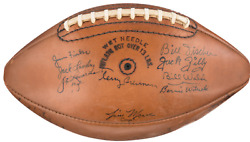 Ultimate Paul Hornung/notre Dame/green Bay Packer Collection Psa/dna Certified
