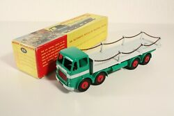 Dinky Toys 935 Leyland Octopus Flat Truck With Chains Mint In Box  Ab2273