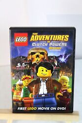 Lego: The Adventures of Clutch Powers (DVD 2010) - Family Kids Movie