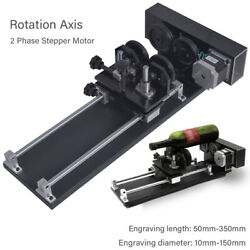 4 Wheel Rotation Axis Rotary Engraving Attachment 2 Phase For Co2 Laser Cutter