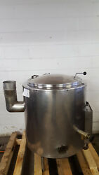Groen AH40 Steam Jacketed Kettle 40 Gallon Natural Gas Tested 115v