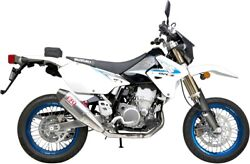 Dr-z400s 00-13 Rs-4 Sig. Dual Muffler Exhaust Al Carbon By Yoshimura For Suzuki