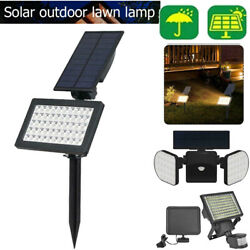 Solar Power Spotlight Outdoor Garden Lawn Landscape Waterproof LED Security Lamp