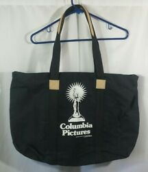 Vintage 1990 Columbia Pictures Movie Studio Canvas Business Work Travel Tote Bag
