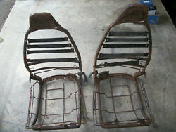 Triumph Spitfire Seat Frames With Bottom Baskets Early Years