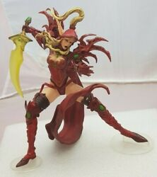 World Of Warcraft Wow Blood Elf Rogue Valeera Sang Figurines Toy Collectible S07