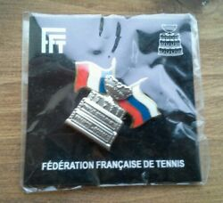 Pinand039s Neuf - Finale 2002 Paris France Russie Coupe Davis - Pins Rare Tennis