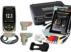 Defelsko Kitfns1 Positector Inspection Kit Standard, 6000-fns, Dpm And Spg Probes
