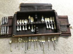 52 Piece Reed And Barton Francis 1 With Rare Salt Shaker And Misc Other Pieces