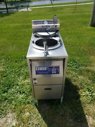 Broaster 1800 Pressure Fryer W Filter Box 208 Volts 3 Phase Refurbished Tested