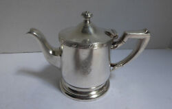 Vintage Silver Soldered Water Coffee Pot Water Pitcher New York Biltmore Hotel
